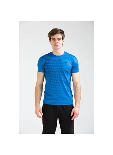 Umbro Reud Basic Tf-0040 M.Tshırt Saks  Erkek Tişört Mavi